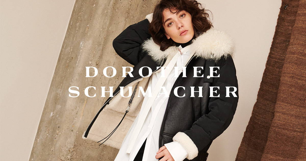 Dorothee Schumacher, Wend Lederjacke mit Fell D4 Store